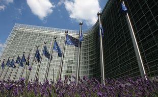 La commission européenne, à Bruxelles.