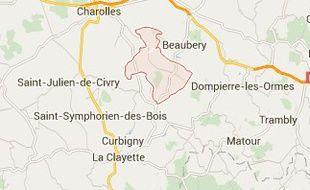 Le vététiste a été retrouvé au fond d'une glacière à Ozolles, en Saône et Loire.