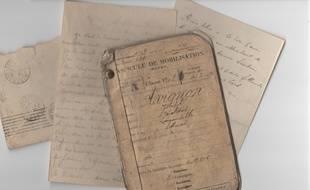 Le courrier du Poilu Joseph Avignon a été remis à son petit-neveu, 103 ans après sa mort.