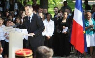 """Le président français Nicolas Sarkozy a dénoncé samedi, lors d'une cérémonie commémorant l'esclavage, le régime birman, """"éminemment condamnable, qui empêche le débarquement de vivres"""" dans ce pays """"ravagé par la nature""""."""
