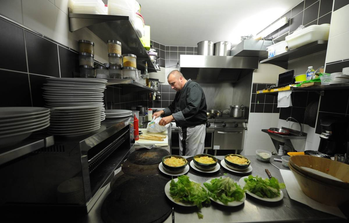 Terroirs bio, premier restaurant 100% bio de Nantes. – FABRICE ELSNER/20 MINUTES