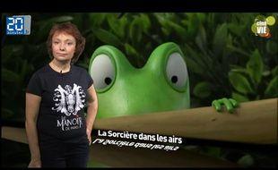 Caroline Vié présente sa chronique de cinéma sur le film «La Sorcière dans les airs»