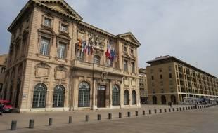La mairie de Marseille.