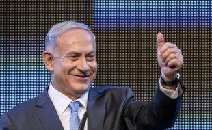 Le Premier ministre israélien Benjamin Netanyahu , le 5 janvier 2014 à Tel Aviv