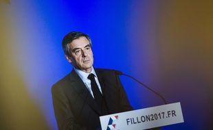 François Fillon, le 13 mars à Paris.