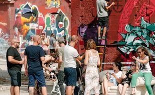 Le Shake Well est un festival international de graffiti qui se tient chaque année depuis 2016 sur la métropole bordelaise.