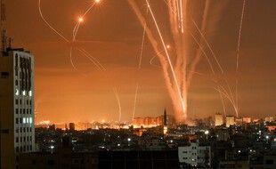 Des roquettes envoyés depuis la bande de Gaza.