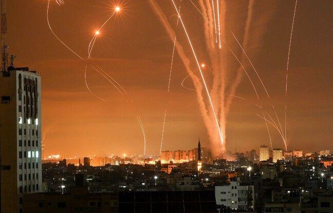 648x415 roquettes envoyes depuis bande gaza