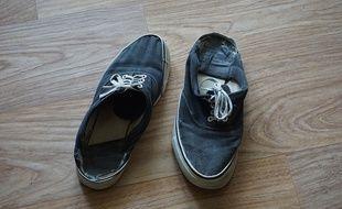 La grève aura eu raison de cette paire de chaussures