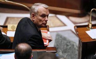 Jean-Marc Ayrault le 14 janvier 2014 à l'Assemblée nationale à Paris