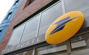 Illustration d'une façade d'un bureau de poste.