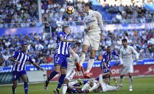 Gareth Bale, le 29 octobre 2016 à Alaves.