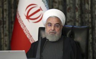 Le président iranien Hassan Rohani, le 18 mars 2020