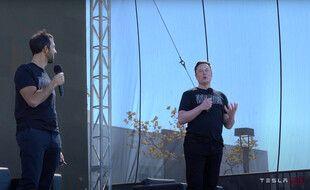 Le patron de Tesla, Elon Musk, le 22 septembre 2020.