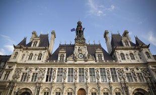 Le 23/10/2013. Illustration de la mairie de Paris. Facade de la mairie de Paris. Photo / V. Wartner / 20 Minutes
