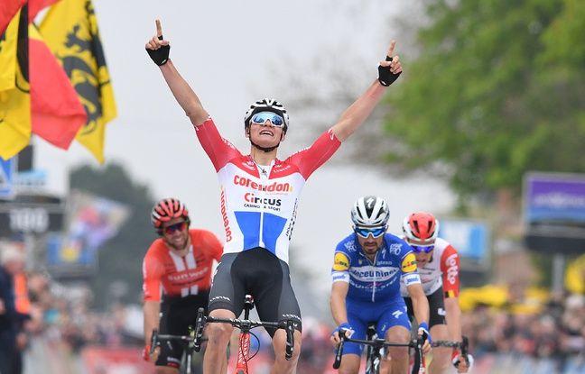 Amstel Gold Race: Après un finish de dingo, Van der Poel écoeure Alaphilippe et s'impose en patron