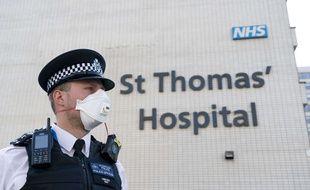 C'est ici que le premier ministre Boris Johnson  est hospitalisé.