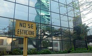 Le bâtiment qui abrite le cabinet d'avocats Mossack Fonseca à Panama City.