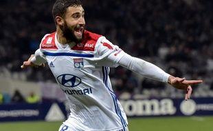 Nabil Fekir, ici après un but inscrit à Toulouse le 16 janvier, sera bientôt fixé sur son nouveau club.