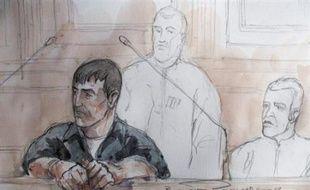 Au premier jour de son procès devant la cour d'assises spéciale de Paris, Yvan Colonna, assassin présumé du préfet de Corse Claude Erignac en février 1998, a reçu lundi le soutien de plusieurs nationalistes de l'île, venus clamer l'innocence du berger de Cargèse