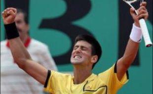 Novak Djokovic s'est qualifié pour la première fois de sa carrière pour les demi-finales d'un tournoi du Grand Chelem en battant le Russe Igor Andreev en trois sets 6-3, 6-3, 6-3, mercredi en quarts de finale de Roland-Garros.