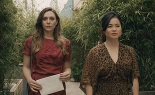 Elizabeth Olsen et Kelly Marie Tran dans « Sorry for your loss »