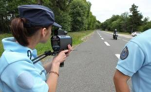 Opération de contrôle effectuée par la gendarmerie. (Illustration)