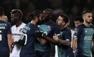Moussa Marega est revenu sur sa sortie contre Guimaraes.