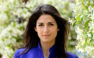 Virginia Raggi, candidate du mouvement Cinq Etoiles (M5S) pour la mairie de Rome, le 19 mai 2016