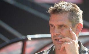 L'entraîneur de Guingamp, Jocelyn Gourvennec, le 3 août 2013, à Rennes.