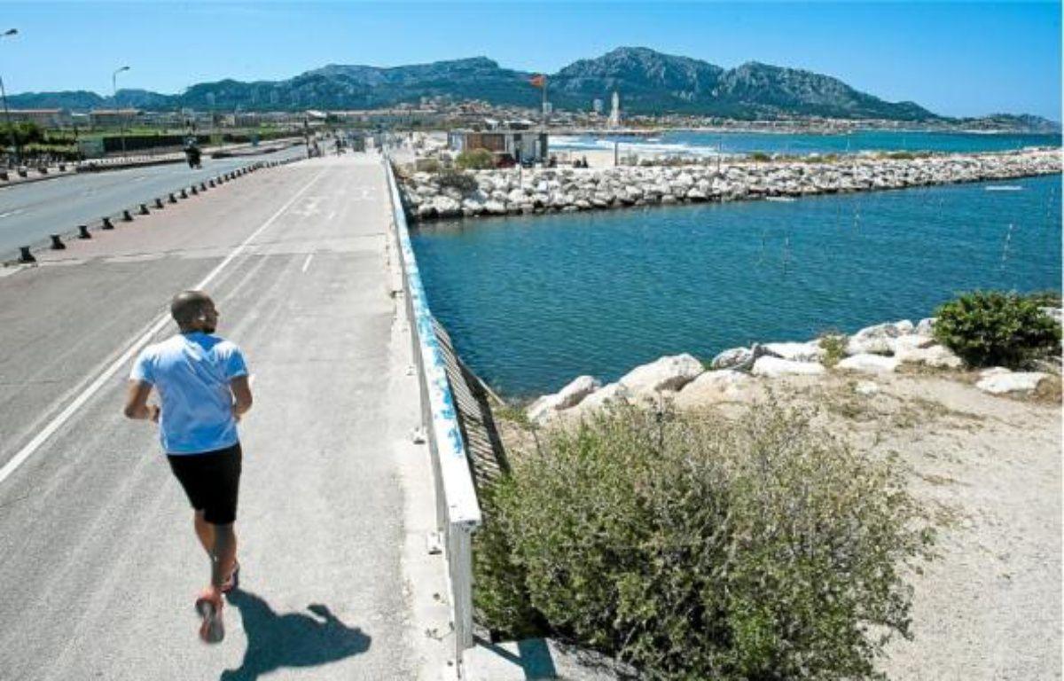 51 % des rivières de la zone Rhône-Méditerranée et Corse sont en bon état. Ci-dessus : l'Huveaune, à Marseille. –  P.MAGNIEN / 20 MINUTES
