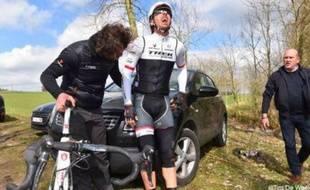 Fabian Cancellara va rater les classiques du printemps.