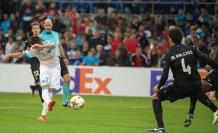 Il a raté son match, mais Maxime Lopez a marqué un but plein de sang froid, face à Guimaraes.