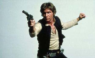 L'acteur Harrison Ford dans le rôle d'Han Solo dans «Star Wars: L'Empire contre-attaque».