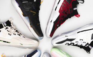 Decathlon et la NBA ont signé un partenariat. La gamme Tarmak va notamment produire des chaussures aux couleurs de neuf franchises.