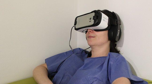 Lyon: La réalité virtuelle au service des patients pour les aider à réduire leur stress - 20minutes.fr