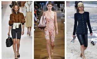 Des looks issus des collections Printemps-été 2019 (Fendi/Stella McCartney/Chanel).