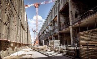 La Martha, l'ancienne base sous marine allemande transformée en data center à Marseille.