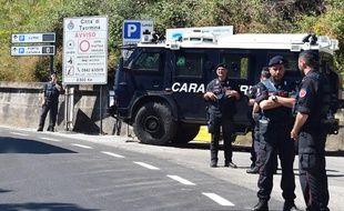 Des carabiniers italiens (illustration).