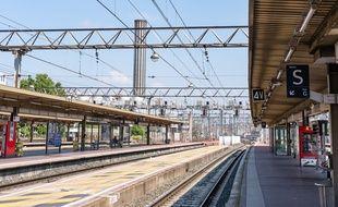La gare de Lyon Part-Dieu.