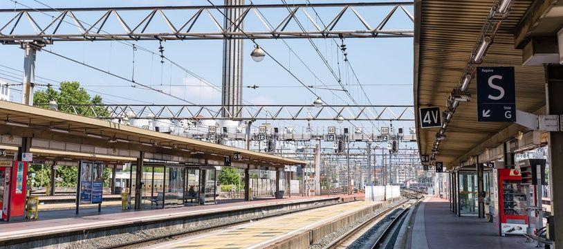 La gare de Lyon Part-Dieu un jour de grève