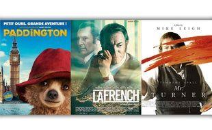 Paddington, La French et Mr Turner, trois films à voir cette semaine