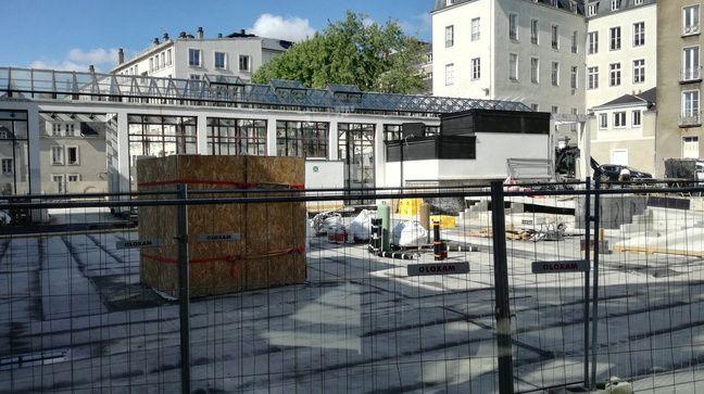 L'entrée de la médiathèque Demy se fera depuis la place Camille-Mellinet.