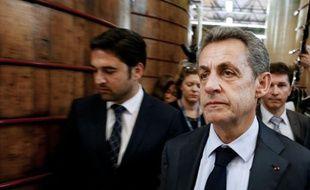 L'ancien président Nicolas Sarkozy à Reims, le 6 juin 2016