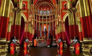 Le metteur en scène Damien Fontaine va réaliser un spectacle inédit à l'intérieur de la cathédrale Saint-Jean. Crédit :Damien Fontaine et Maison de Production