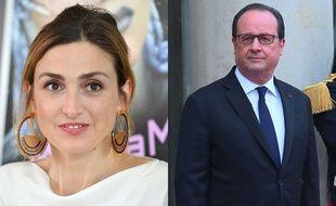 François Hollande et Julie Gayet (montage)