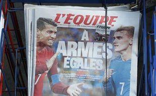L'édition du 9 juillet 2016 de « L'Equipe »