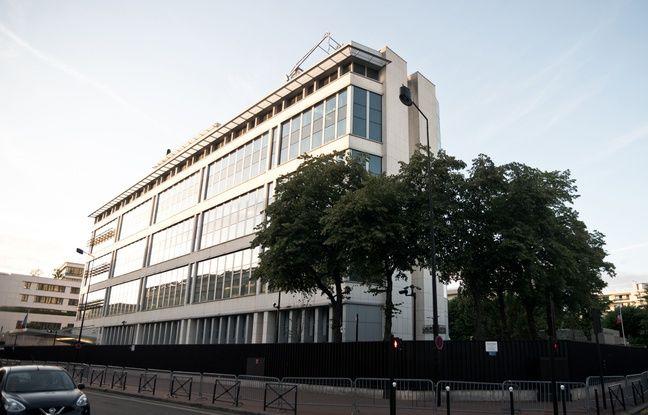 Les locaux de la DGSI à Levallois-Perret.