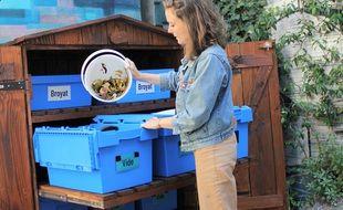 La Tricyclerie s'intéresse aussi aux biodéchets des particuliers. L'association a ouvert un premier point relais quartier des Olivettes