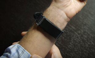 Le Skyn, un bracelet connecté qui mesure le taux d'alcoolémie.
